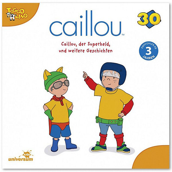 CD Caillou 30 - Der Superheld