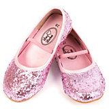 Glitzer Ballerina Schuhe