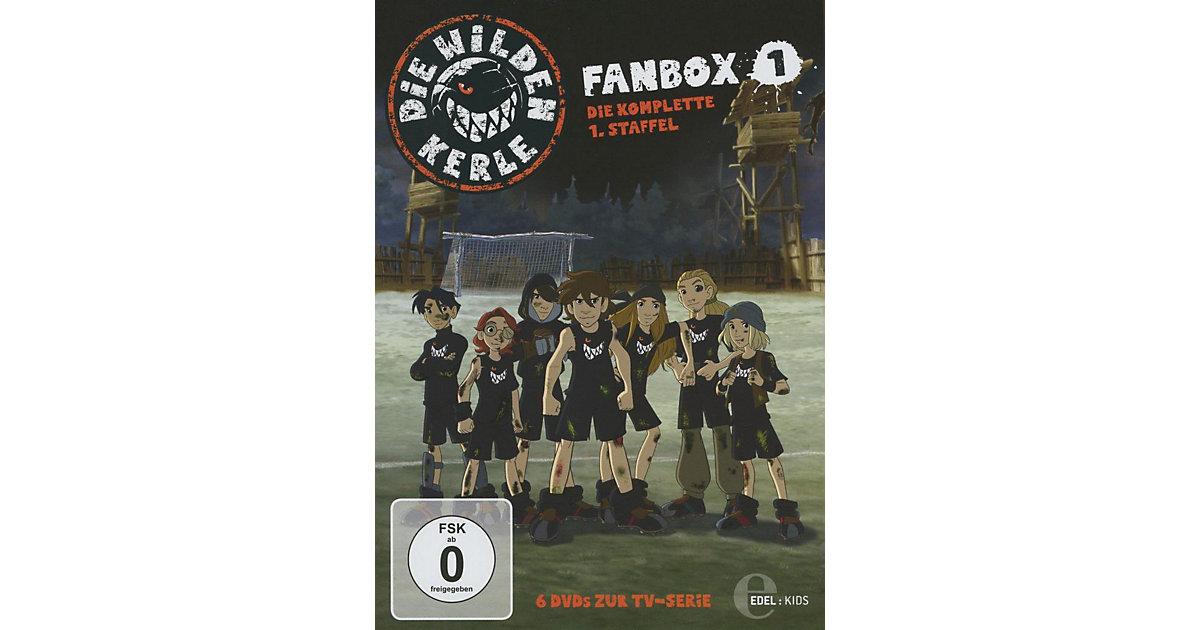 DVD Die wilden Kerle- Fanbox 1-die kompl. 1. Staffel