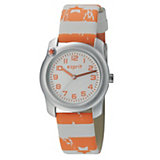 Esprit Kinder Armbanduhr Nautical Sailor Orange + Farbstiftset