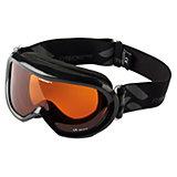 Skibrille Freeze schwarz