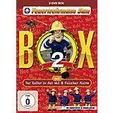 DVD Feuerwehrmann Sam - DVD Box 2 (DVD Der Retter in der Not + DVD Falscher Alarm)
