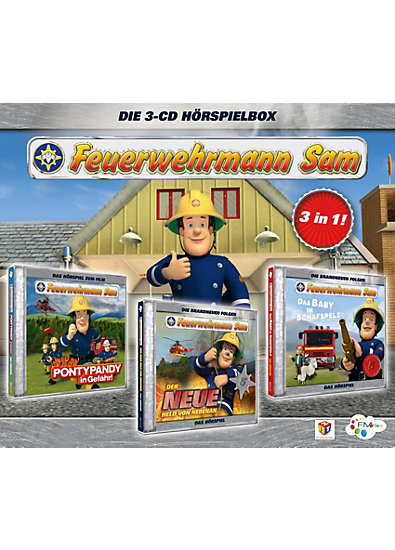 cd feuerwehrmann sam box 01 mytoys. Black Bedroom Furniture Sets. Home Design Ideas