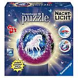 puzzleball® Nachtlicht Einhörner 72 Teile