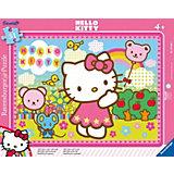 Rahmenpuzzle 31 Teile - Hello Kitty: Hello Kitty auf dem Jahrmarkt
