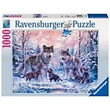 Puzzle 1000 Teile - Arktische Wölfe