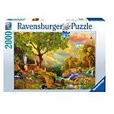 Пазл «Сказочный лес» 2000 деталей, Ravensburger