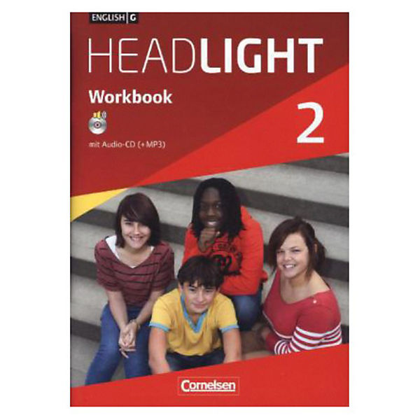 English G Headlight, Allgemeine Ausgabe: 6. Schuljahr, Workbook mit Audio-CD (+ MP3)