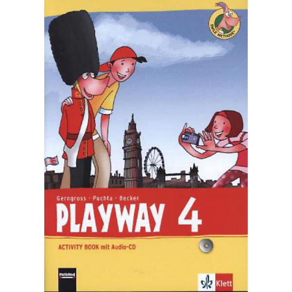 Playway ab Klasse 3 (Ausgabe 2013): 4. Schuljahr, Activity Book m. Audio-CD