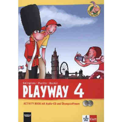 Playway ab Klasse 3 (Ausgabe 2013): 4. Schuljahr, Activity Book m. Audio-CD u. CD-ROM