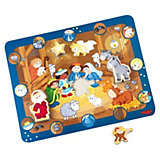 HABA 7663 Entdecker-Puzzle Stall von Bethlehem