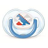 "Пустышка ""Дизайн"" для мальчика , 0-6 месяцев, 1 шт., AVENT"
