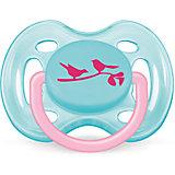 """Пустышка """"Дизайн"""" для девочки , 0-6 месяцев, 1 шт., AVENT"""