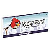 Акварель медовая 12 цветов Angry Birds
