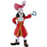 BULLYLAND Comicwelt Walt Disney Jake und die Nimmerland Piraten - Spielfigur Captain Hook