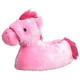 HORKA Kinder Hausschuhe PFERD, pink