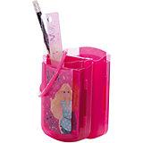 Barbie Набор канцелярский: карандаш с ластиком, пенал, линейка, ручка