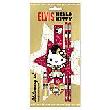 Hello Kitty Набор канцелярский: ластик, точилка, линейка, карандаш 2 шт.