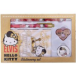 Hello Kitty Набор канцелярский: записная книжка, ручка, карандаш, в подарочной коробке