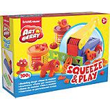 Набор для лепки: Пластилин на растительной основе Squeeze & Play 2 цвета по 100г