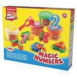 """Игровой набор """"Волшебные цифры"""", Artberry, 4 цв"""