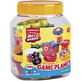 Набор для лепки: Пластилин на растительной основе Game Planet 4 цвета по 35г