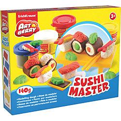 Набор для лепки: Пластилин на растительной основе Sushi Master 4 цвета по 35г