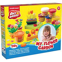 Набор для лепки: Пластилин на растительной основе My Flower Garden 6 цветов по 35г