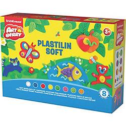 Пластилин мягкий Creative Game Artberry, 8 цв