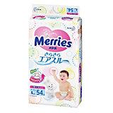 Подгузники для детей Merries, L 9-14 кг, 54 шт.