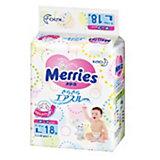 Подгузники для детей Merries, L 9-14 кг, 18 шт.
