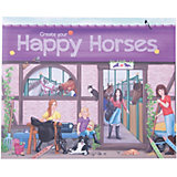 "Альбом с наклейками ""Create your Happy Horses"", Creative Studio"
