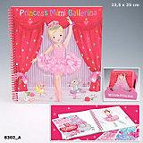 My Style Princess Ballett Malbuch, sortiert