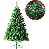 Ель зеленая, 150см, 400 веток, металлическая подставка, TUKZAR