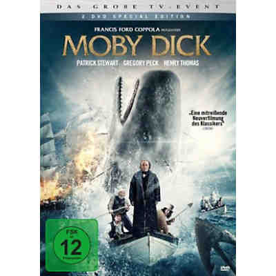 DVD Moby Dick (2 DVDs)