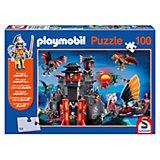 Asia-Drachenland, 100 Teile, Kinderpuzzle Playmobil mit Figur