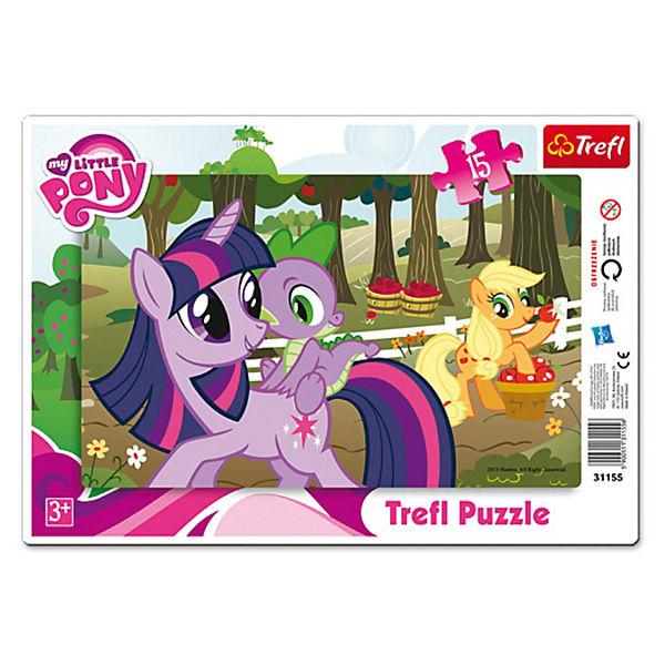 "Пазл  ""Дружба -это чудо"", 15 деталей, My little Pony"