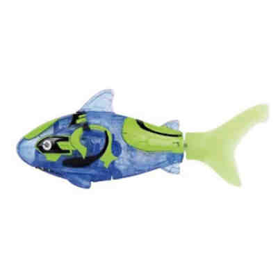 Robo Fish Shark Blue/Green
