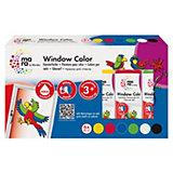 mara Window Color Farbenset, 6 x 80 ml