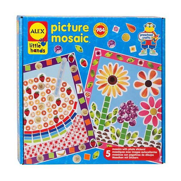 "Мозаика-стикеры ""Из фотографий"" ALEX 5 картинок"