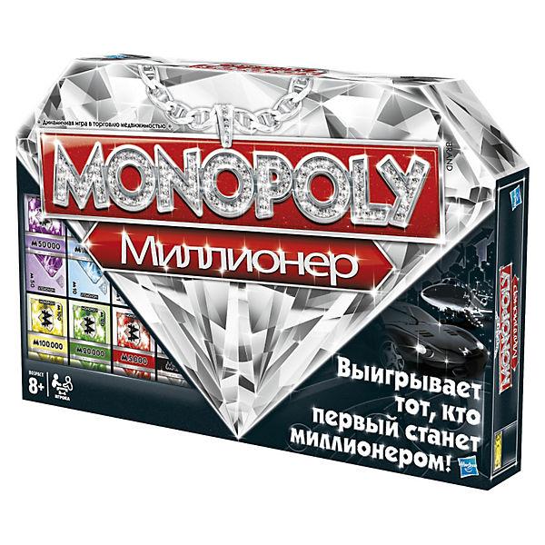 "Игра ""Монополия Миллионер"", Hasbro"