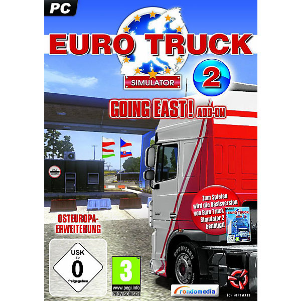 PC Euro Truck Simulator 2: Going East! (Add-On)