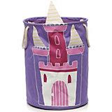 Aufbewahrungstonne Schloss, lila