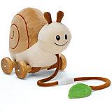 Мягкая игрушка-каталка Улитка, Teddykompaniet