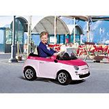 Elektrofahrzeug FIAT 500 pink 6 V