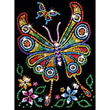 KSG Junior Sequin Art Schmetterling