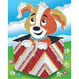 KSG Stardust Sequin Art Rainbow Hund