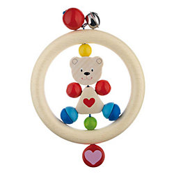 "Игрушка-кольцо ""Медвежонок с сердцем"", HEIMESS"