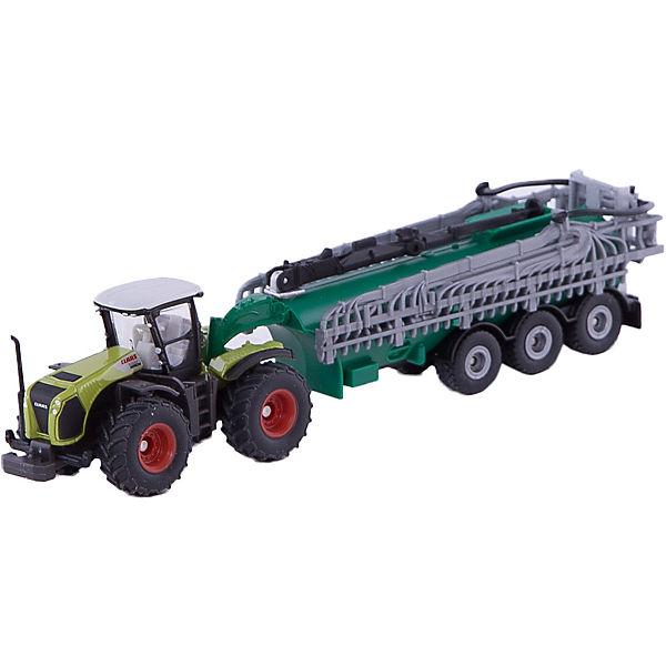 Трактор с вакуумным баком, SIKU