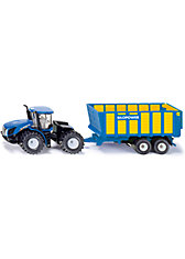 SIKU 1947 New Holland mit Silagewagen 1:50